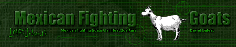 Mexican Fighting Goats Headquarters - � Copyright 2003